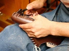 革靴の基礎技術体験