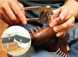 革靴制作体験&マルチポーチ制作